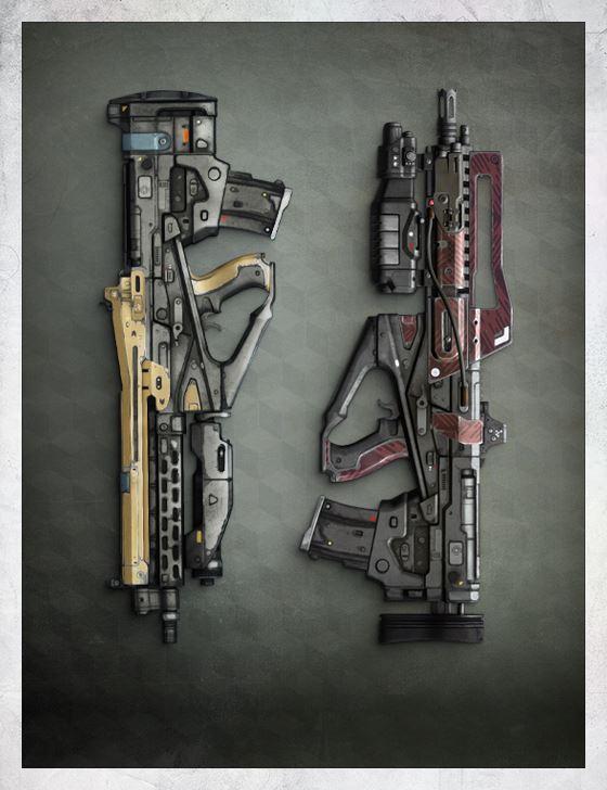 Pulse Rifles