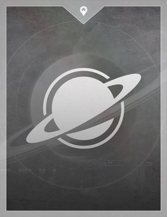 Saturn's Page Card