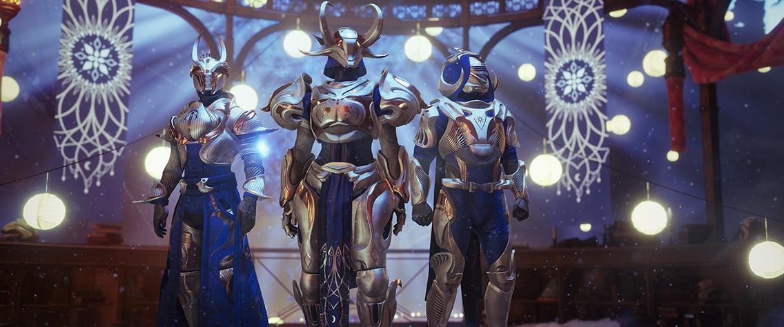 Destiny 2 - Dawning Gear