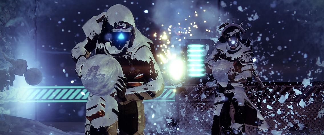 Destiny 2 - Snowballs