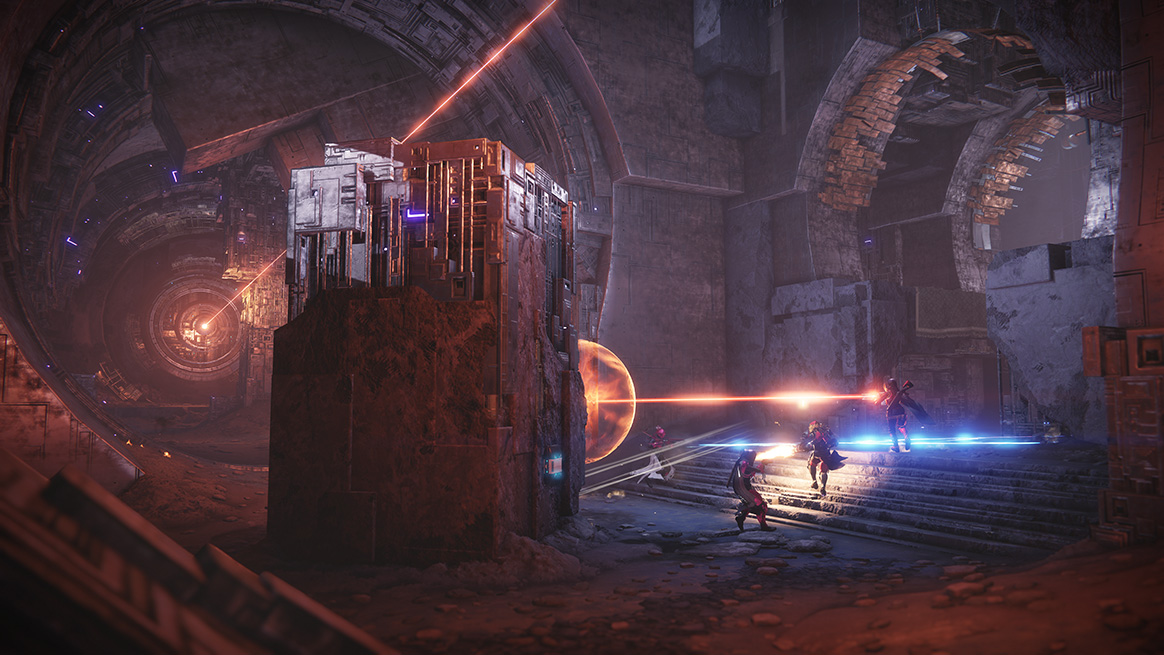 """Crimson DaysSource: https://www.bungie.net/en/News/Article/46617    Crimson Days begins in Destiny 2 on Tuesday, February 13. At the heart of the weeklong event is a 2v2 Crucible playlist intended to get your blood pumping as you and a friend test your bonds to the breaking point. This celebration of teamwork will last one week!  The combat scenario is 2v2 Clash with a round-based twist. We will also be debuting The Burnout, a new take on The Burning Shrine set in a future timeline where the Vex have succeeded in altering our reality.  Image Link  The sun is darkened and the only Light to be found comes from you and your partner fighting as one. Stay in close proximity to your partner and your abilities recharge at a faster rate. Stray too far, and your enemies will be given a waypoint leading to your location. If you can't find a partner, don't worry. We'll play matchmaker and find one for you.  Image Link    The Rewards  The best way to earn rewards during Crimson Days is to compete in the Crimson Days Crucible playlist, and we've tuned the experience to focus on rewarding single-character play. Most rewards are found within a new Crimson Engram, with all contents on a """"knock-out"""" list, preventing you from receiving duplicate items until you've earned all of the new gear.  No matter which activity you play in Destiny 2 during Crimson Days, every player will receive both an Illuminated Engram and a Crimson Engram when they level up. Crimson Engrams are only earnable through gameplay, and are not capped or limited during the event. To qualify, you need only to reach the level cap for your Guardian (that's 25 if you've acquired Expansion 1; 20 if you haven't).  Image Link  There are also five new rewards found exclusively for players who complete the following:   Complete the milestone """"Welcome to Crimson Days"""" by finishing five Crimson Days matches and visiting Lord Shaxx in the Tower to earn the Fire of the Crimson Days Emblem and the Tirastrella Exotic Ghost Shell"""