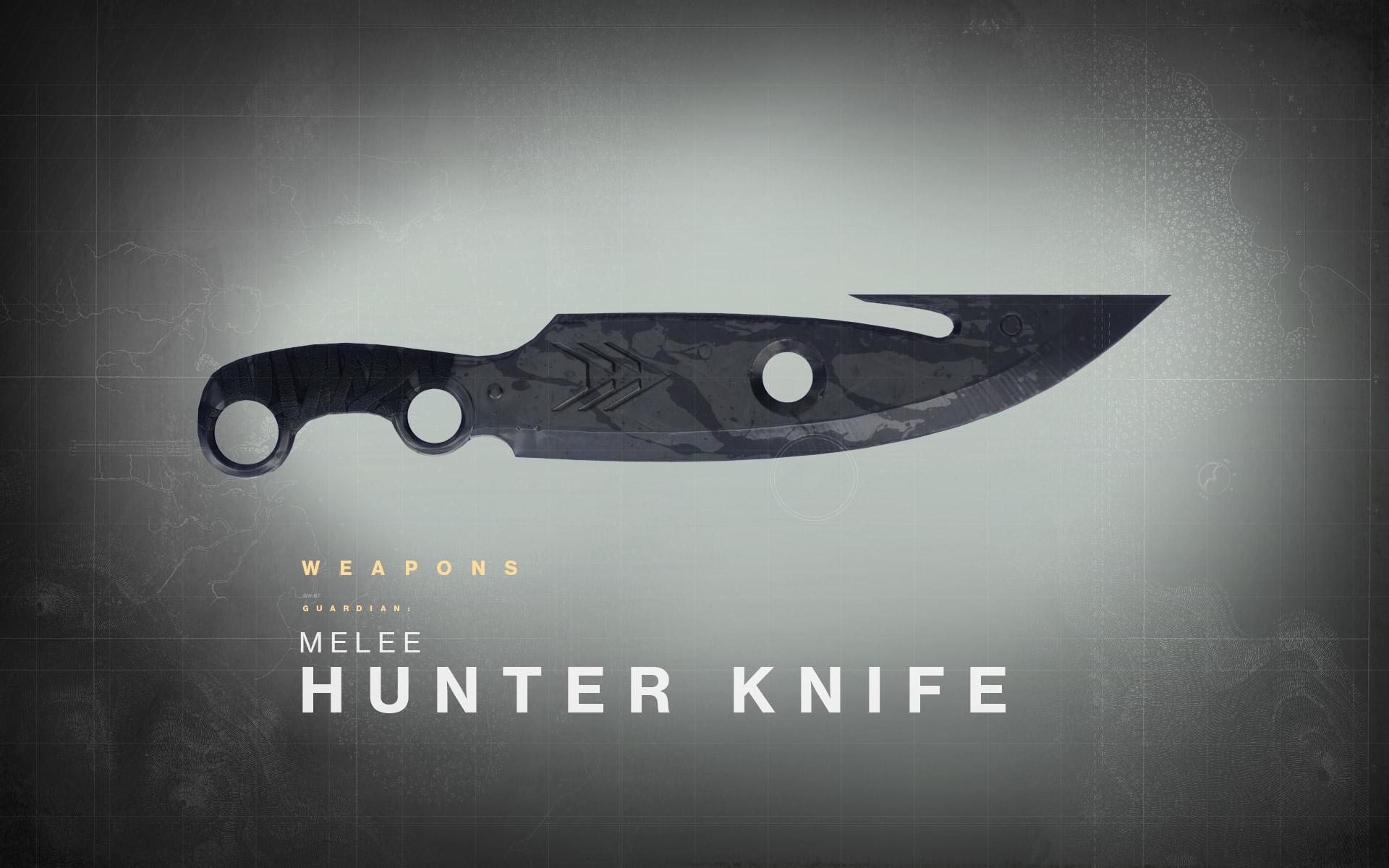 Destiny Drawing Board The Hunters Knife &gt News  Bungienet