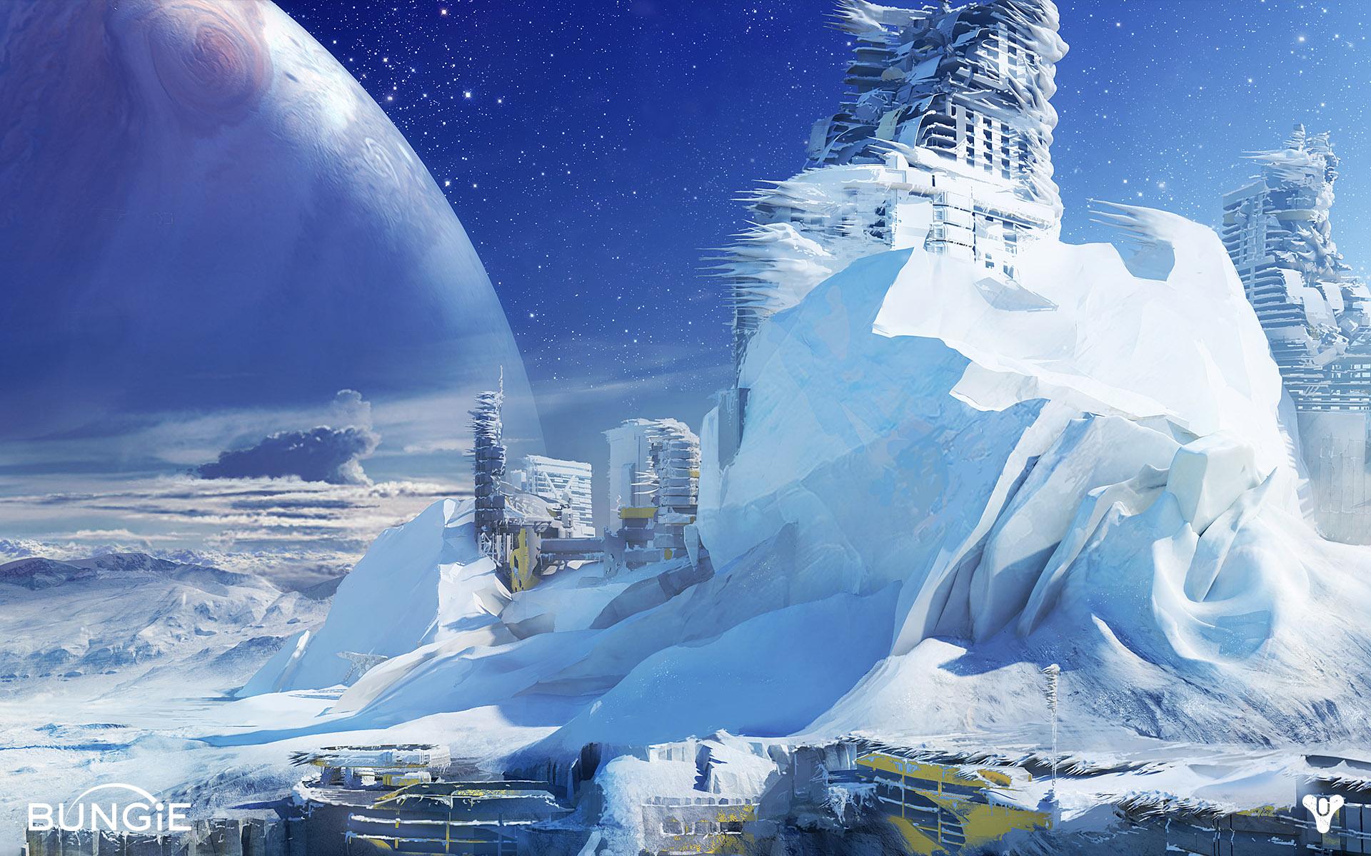 Europa (Destiny concept art) : ImaginaryLandscapes
