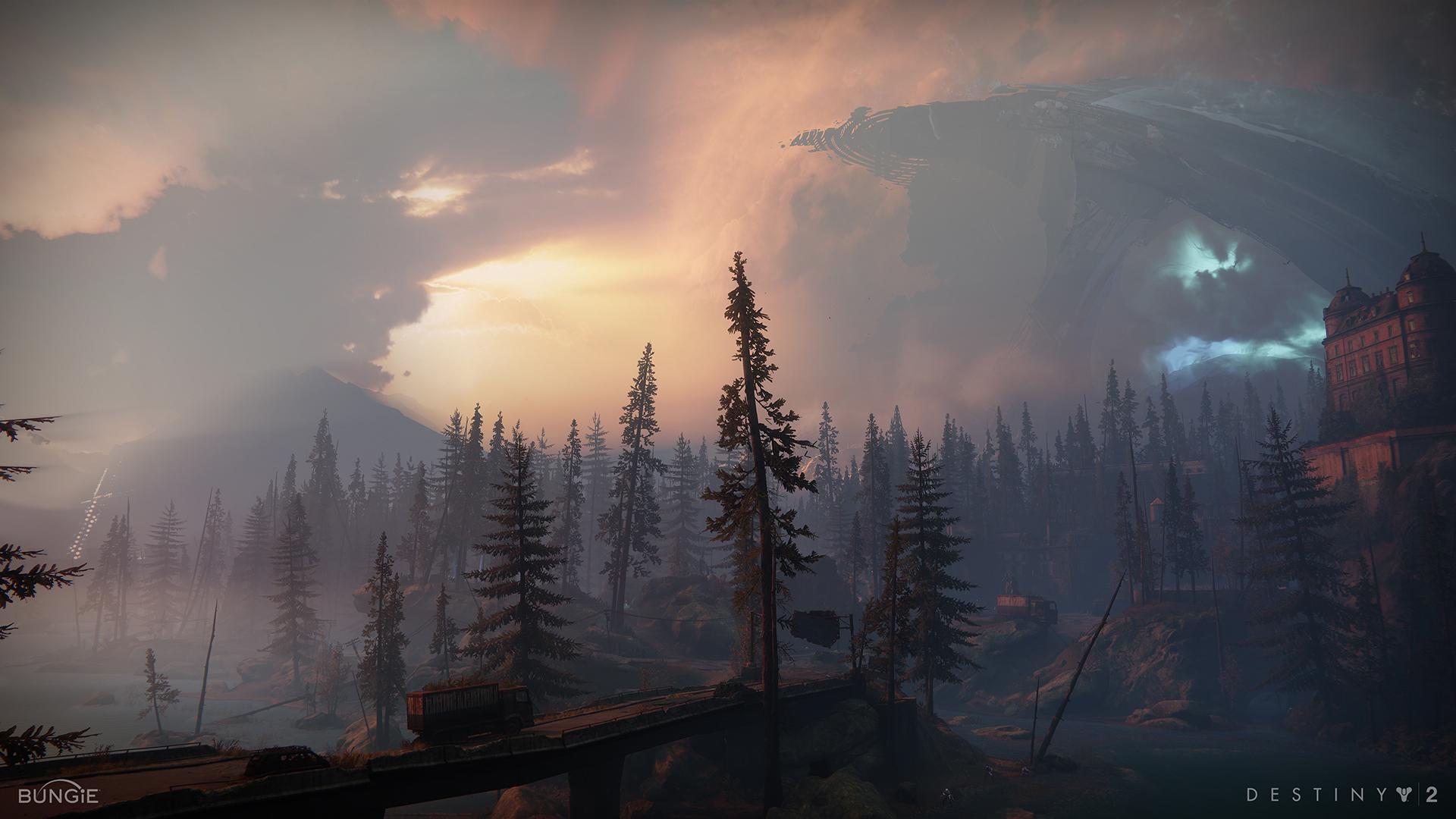 Destiny 2 : De magnifiques fonds d