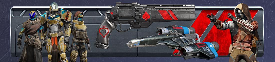 Help: Destiny 2: Forsaken Cayde's Exotic Stash | Bungie net