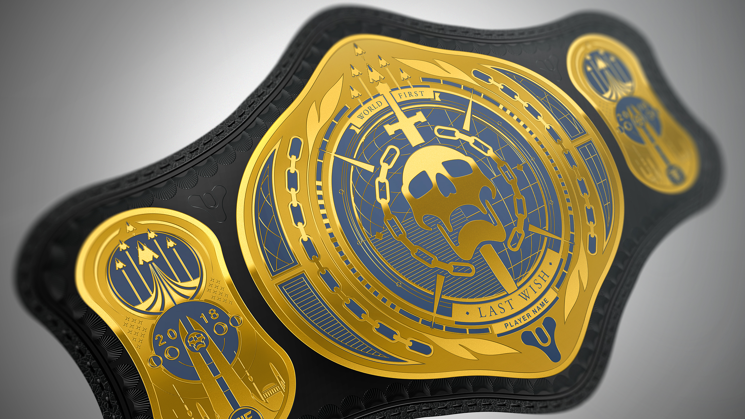 World First Title Belt