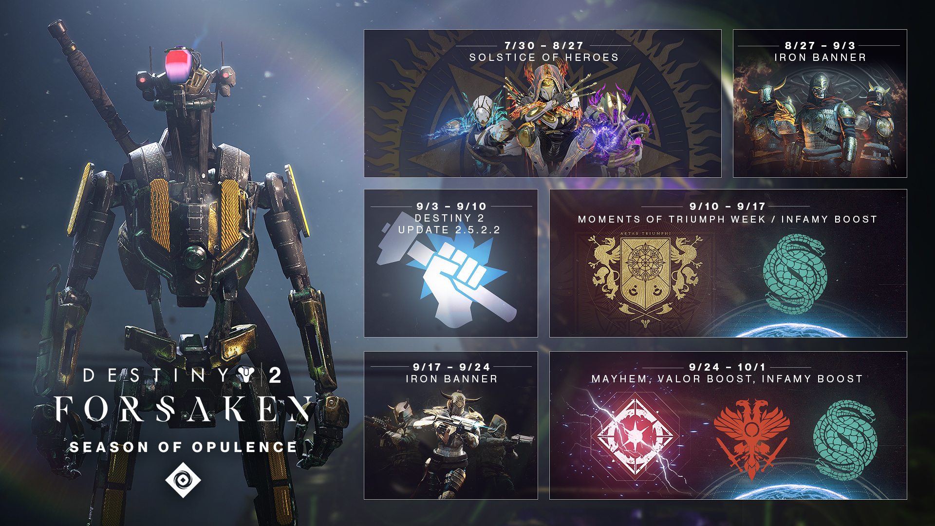 Destiny 2: Season of Opulence
