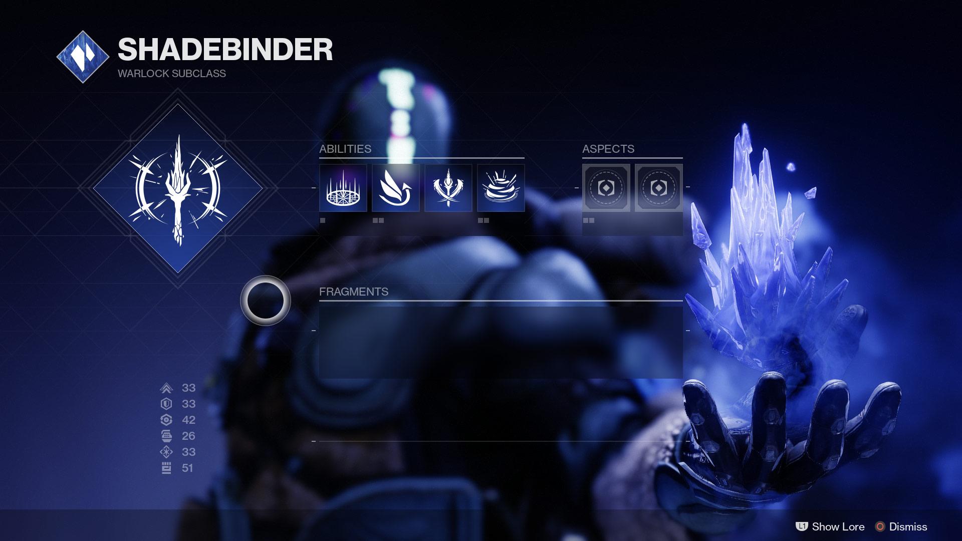 Warlock Stasis Subclass abilities EN - Stasis Spotlight: Warlock Shadebinder