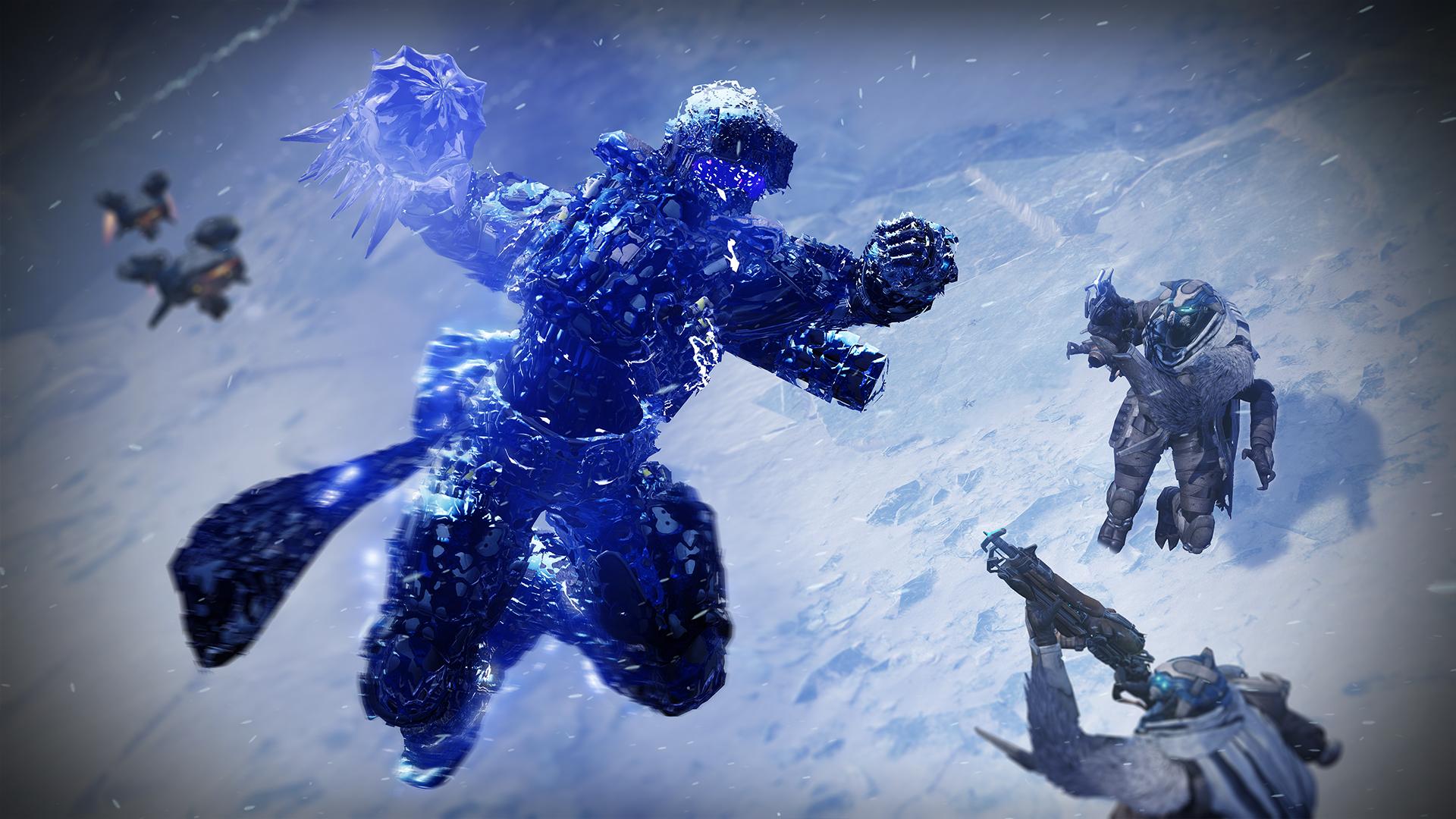 Titan Stasis 02 - Stasis Spotlight: Titan Behemoth
