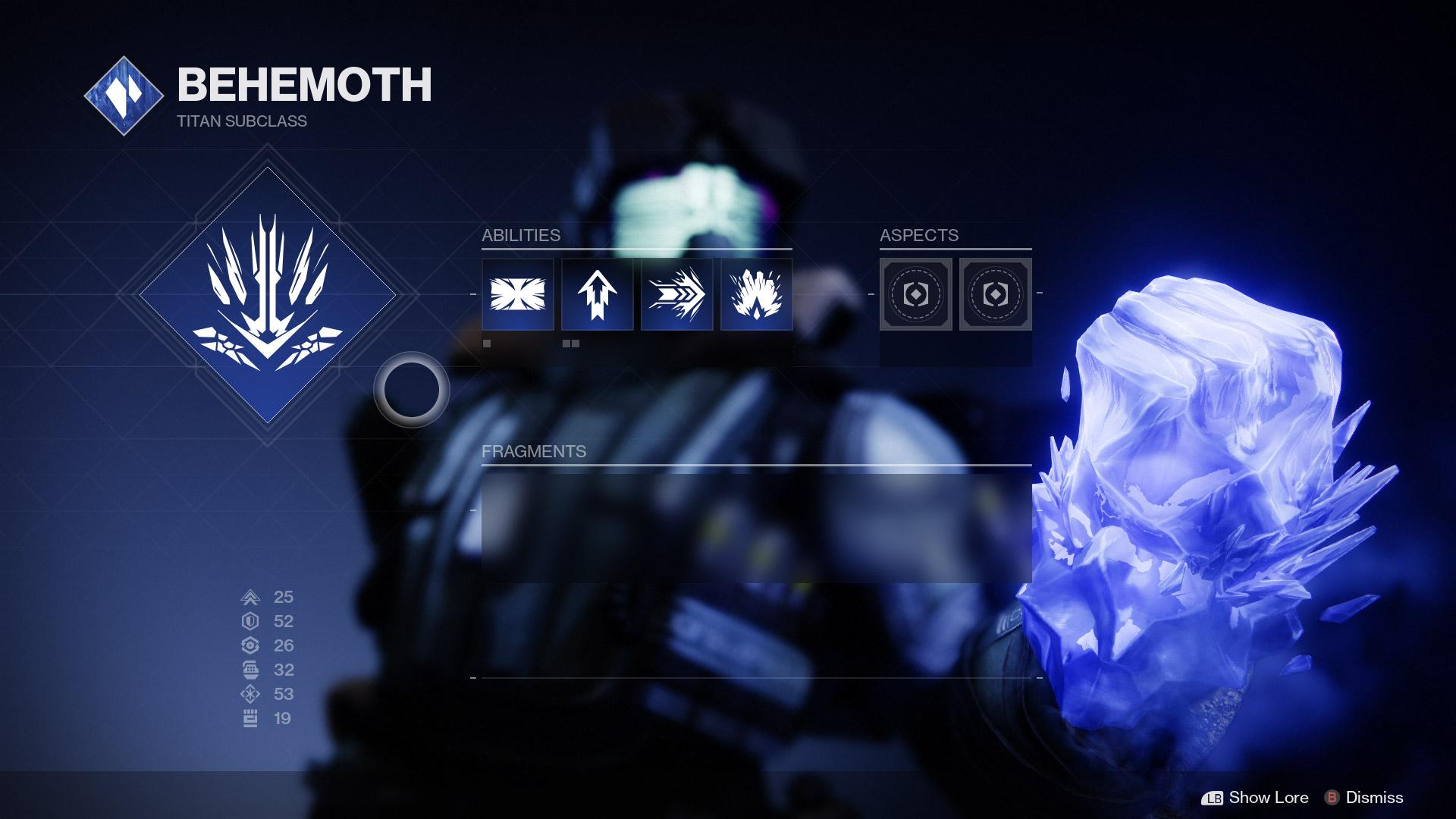 Titan Stasis Subclass abilities EN - Stasis Spotlight: Titan Behemoth