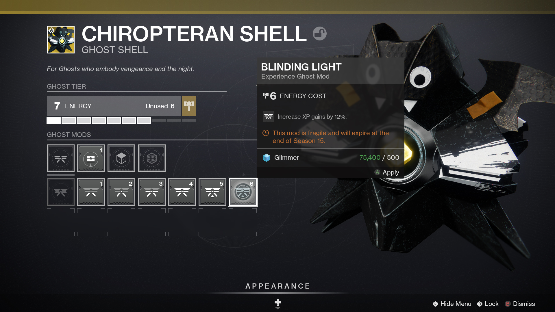 Destiny 2 Beyond Light Ghost Customize 01