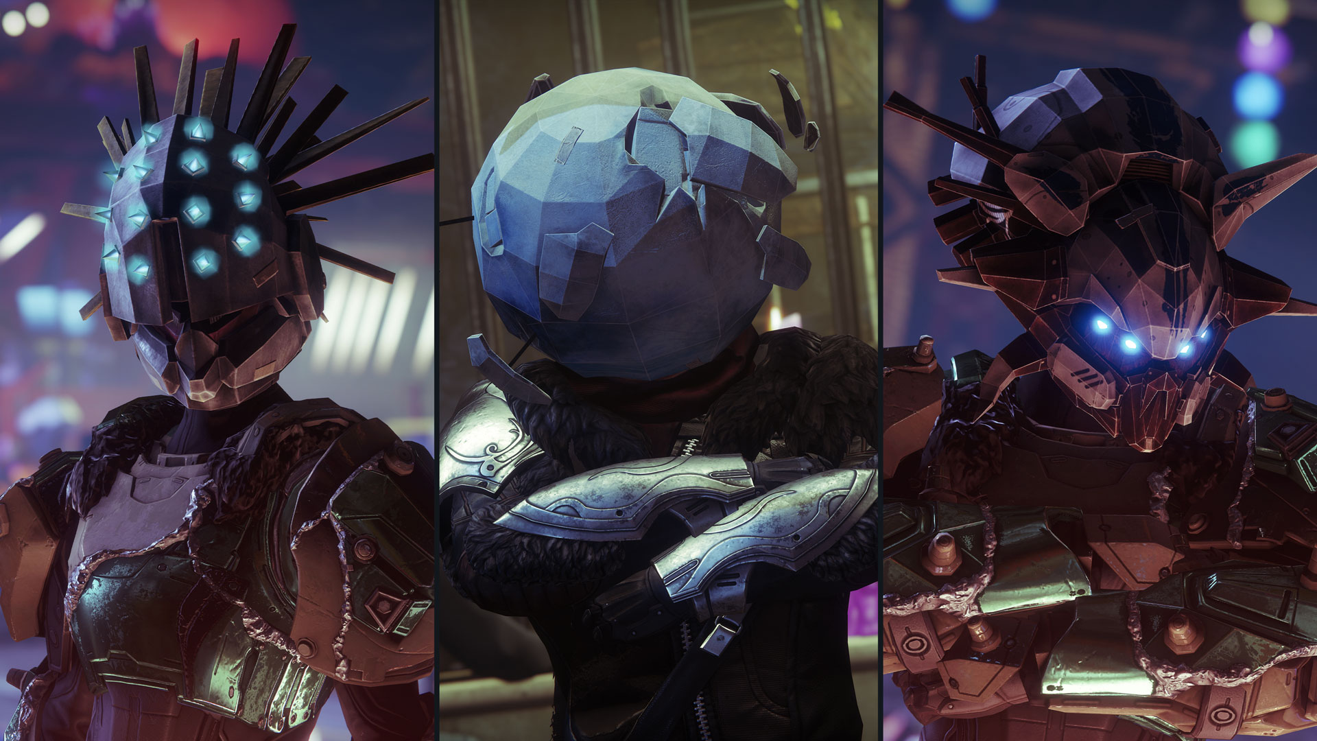 Masks Collage - This Week At Bungie 10/01/2020